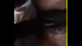 Closeup - Ebony Hairy Pussy Getting Rammed