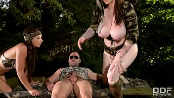 cover video Busty Commando Team Rescue Babes Get Ass Fucked