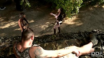 thumb Busty Commando Team Rescue Babes Get Ass Fucked