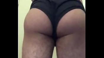 Booty jiggle...