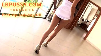 Amateur Postop Ladyboy Oil In Hotel With A Guy