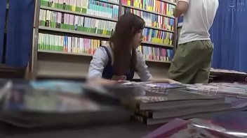 Japanese Bookstore Fuck Part 1
