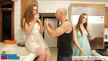 cover video Hot Girls Jillian Janson And Maddy O Reilly Sharing Cock
