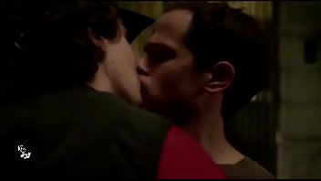 Netflix show titled b. featuring two male actors in a sweet kiss | GAYLAVIDA.COM