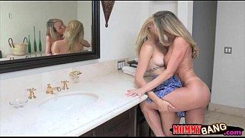 Teen Beauty Mia Malkova Sharing Cock With Stepmom Brandi