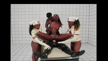 xxarxx Black Latex Nurses