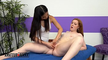 Streaming Video AmateurBoxxx - Petite Asian Gives Redhead a Happy Ending - XLXX.video