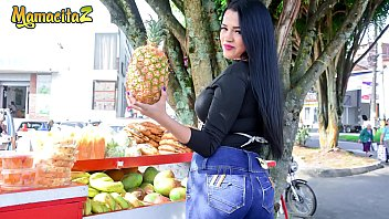 Maria buys fruit from the market and receives a free cock
