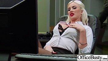 Sex Tape With Slut Office Bigtits Girl (gigi allens) clip-14