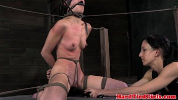asian schoolgirl creampie Restrained and clamped skank