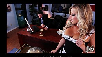 Stunning Blonde Maid Samantha Saint Is Fucked By Her Boss
