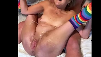 Horny Mature Wife Toys Her Wet Pussy To A Couple Nice Squirting Orgasms