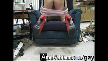 Pink panties, heels, garter, nude rht stockings, and cum. - amawebcam.com/gay