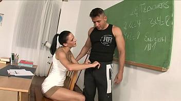 thumb A Sexy Teacher Gets Fucked