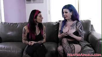 Busty goth girl in stockings fucked hard thumbnail