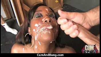 Black Slut Group Attacked In Her Mouth 6