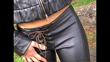 leather with hot pants pussys hot