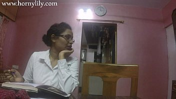 Indian Aunty Sex Horny Lily In Office 10 min HD