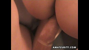 Busty amateur girlfriend homemade hardcore action tight 18