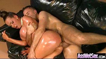 Hard Anal Sex With Big Luscious Butt Girl (nikki benz) clip-25
