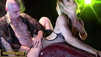 Punky pornstars orgy on stage