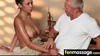 Gorgeous masseuse explores the body of a sexy lesbian beauty 22
