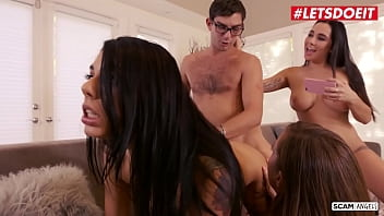 SCAM ANGELS - #Gina Valentina #Karlee Grey #Maddy O&#039_Reilly #Logan Long - Girls! Let&#039_s Fuck This Lawyer!