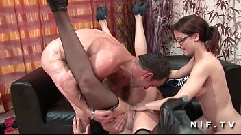 xxarxx FFFM Three french slut hard fucked and fisted