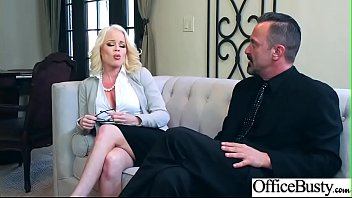 Hard Sex With Big Round Tits Nasty Office Girl (Nikki Delano) video-20