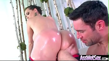 (Nikki Benz) Hot Girl With Big Ass Get Hard Anal Sex movie-26