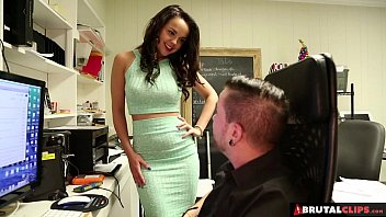 BrutalClips - Dillion was just too horny to wait till he got home