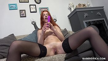 Solo Redhead, A tisha Is Moaning While Cumming g While Cumming, In