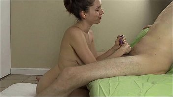 Lelu Love Sucks and Strokes A Big Hard Cock For A Facial