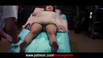 New Japanese massage with oil
