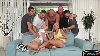 Handsome studs orgy...