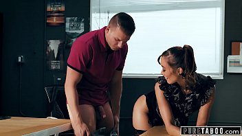 PURE TABOO Lesb ian Teacher Christy Love Asks  isty Love Asks Male Student to G