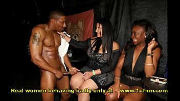 Naughty Women Sucking Off Male Strippers Cfnm
