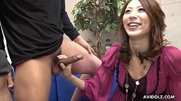 Free download video sex Japanese secretary comma Riko Miyase sucks cocks comma uncensored fastest