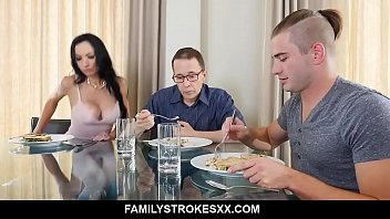 Watch video sex 2020 Busty aunt seduces step nephew staying over Portia Harlow porn high speed