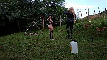 Beth Kinky - Sexy goth domina trains her shemale horseman pt2 HD