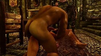 Massive black penis gaping crossdresser penetration bareback...