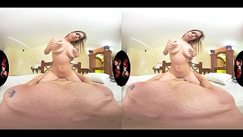 VRLatina.com - Horny Young Babe with Big Tits in VR