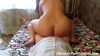 BBW Homemade fuck and suck with anal creampie natural bbw