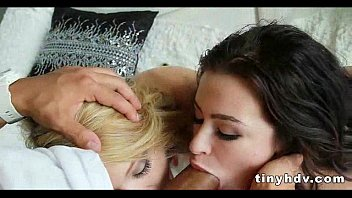 Tiny petite teens 3way adriana lynn and dakota skye 7 93
