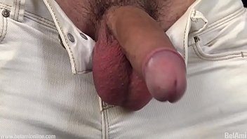 Solo jerk off with cum...