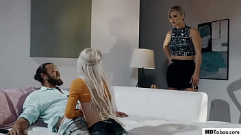 Cheating Hubby And Slut Involved Wife&#039_s Pussy - Kenzie Reeves, Rachael Cavalli