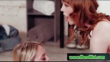 Hot masseuses offer amazing nuru massage - Derrick Pierce, Lily Larimar