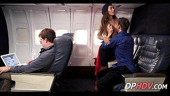 Eva fucks on the plane 2 1