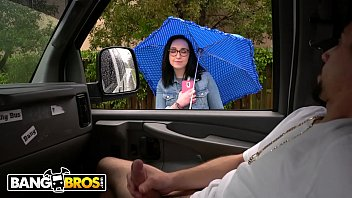 thumb  Scarlett 039 S Wild Ride On The Bang Bus During A Rainy Day