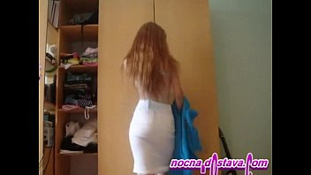 Redhead in home made action redhead russian